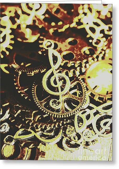 Engineering The Music Industry Greeting Card