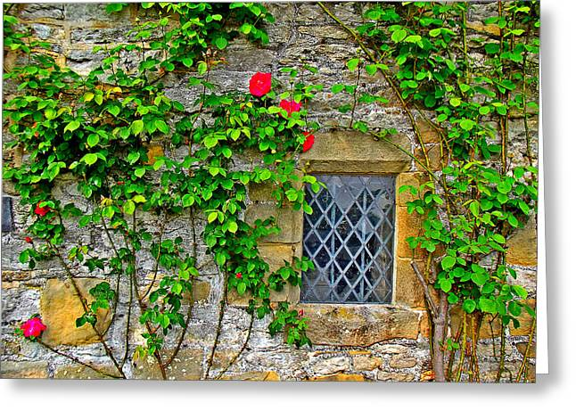 England 1 Greeting Card by Aaron Carberry