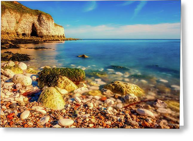 England By The Sea Greeting Card