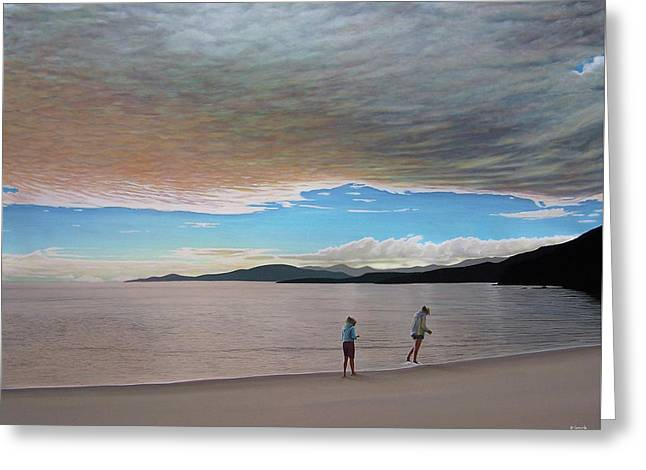 English Bay Vancouver Greeting Card by Kenneth M  Kirsch