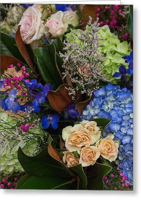 Greeting Card featuring the photograph English Bouquet by Julie Andel