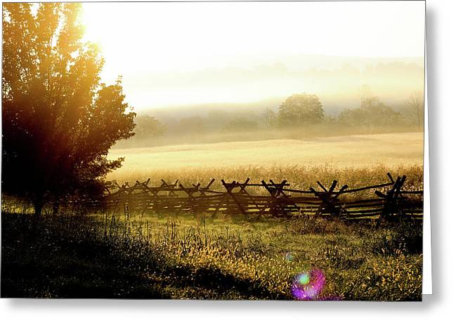 English Morning Greeting Card by Everett Houser