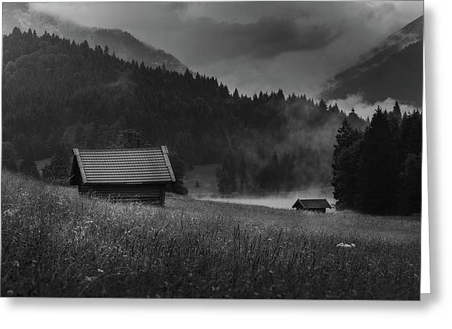 Enigmatic Alps Greeting Card