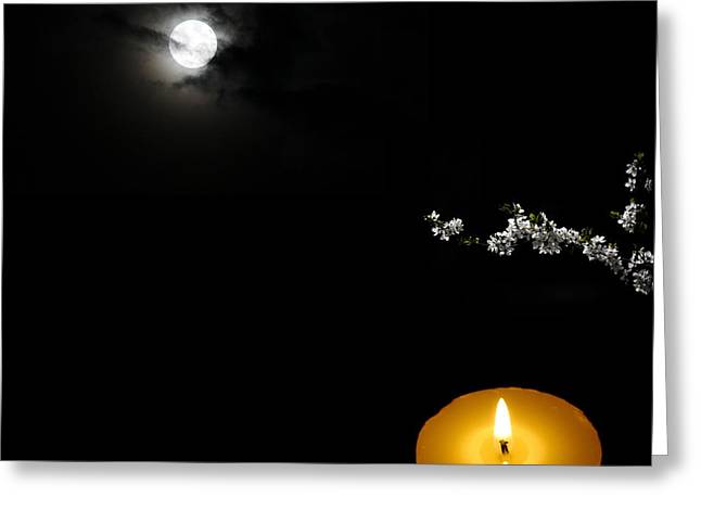 Enigmatic Perspective Greeting Card by Celestial Images