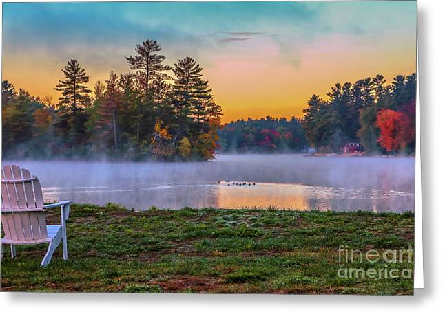 Enjoy The View Greeting Card by Claudia M Photography