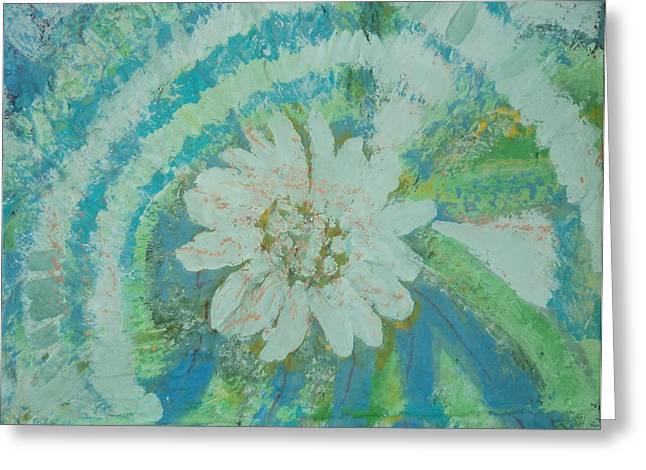 Enlightened Greeting Card by Anne-Elizabeth Whiteway