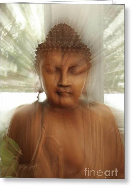 Enlightened Buddha Greeting Card