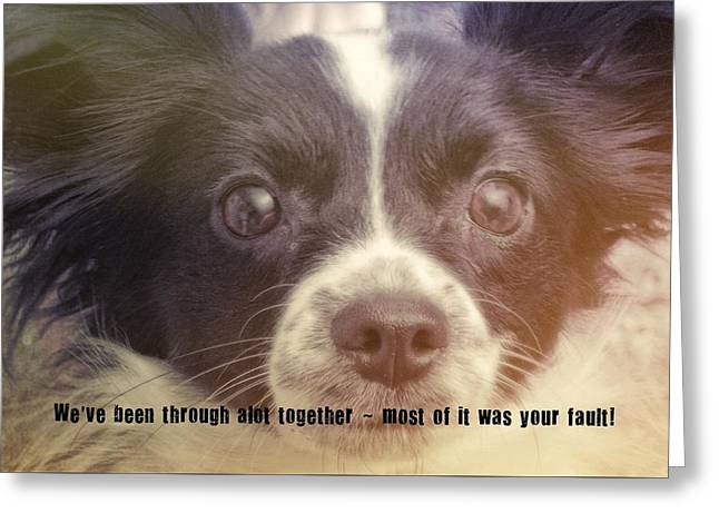 Ennis Quote Greeting Card by JAMART Photography