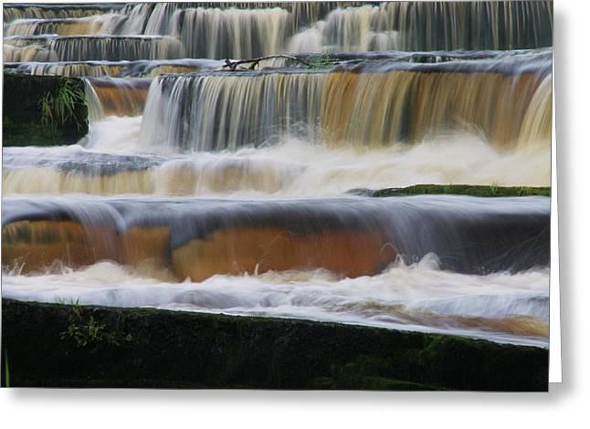 Ennistymon Falls Greeting Card