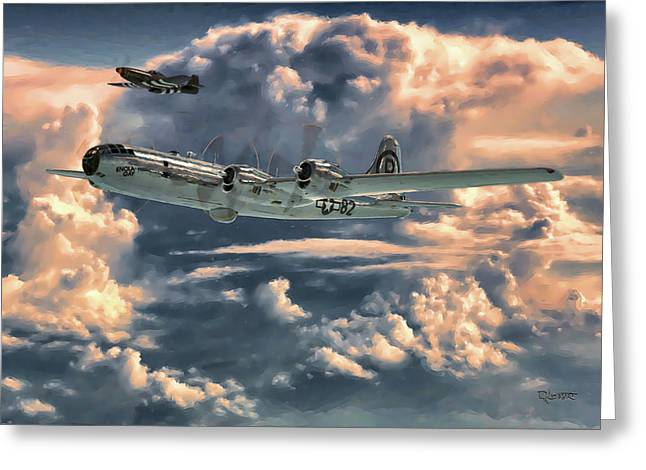 Enola Gay Greeting Card