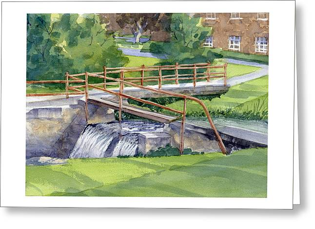Ensign - Bickford Waterfall Greeting Card