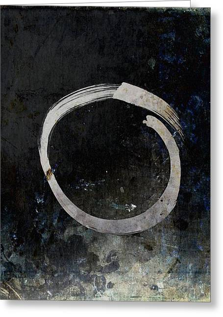Enso #5 - Ghost Greeting Card