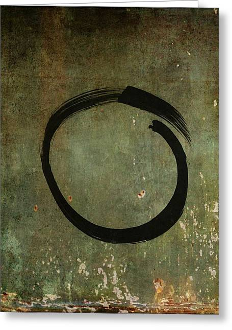 Enso #6 - As Time Goes By Greeting Card