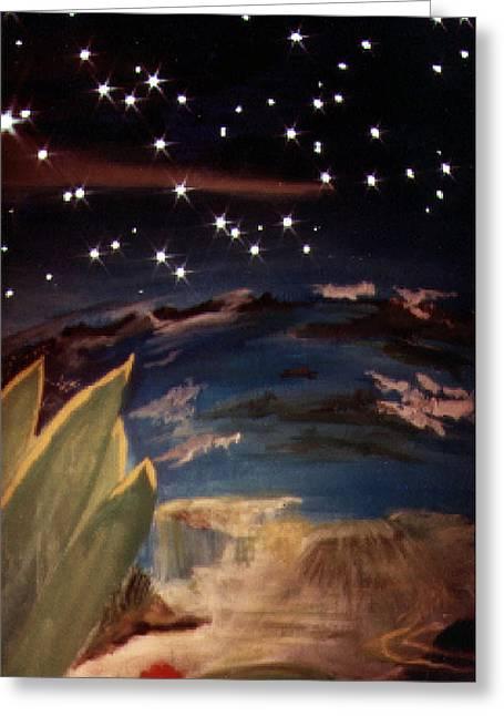 Enter My Dream Greeting Card by Steve Karol