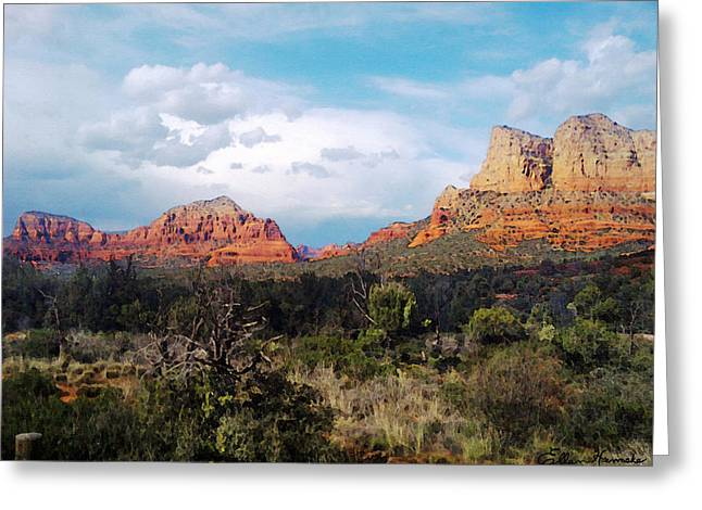 Entering Sedona Greeting Card