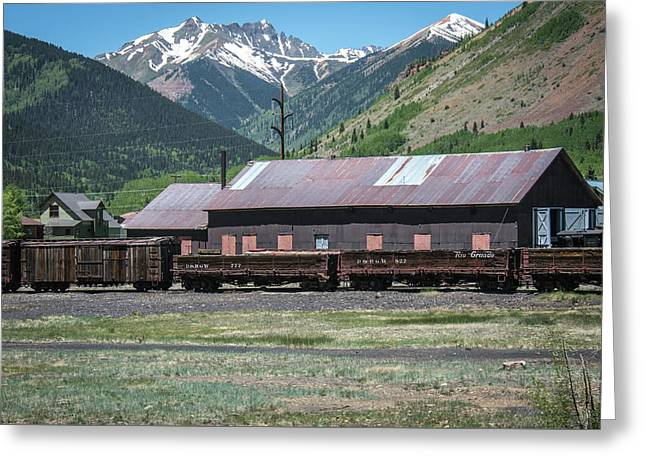 Greeting Card featuring the photograph Entering Silverton by Colleen Coccia