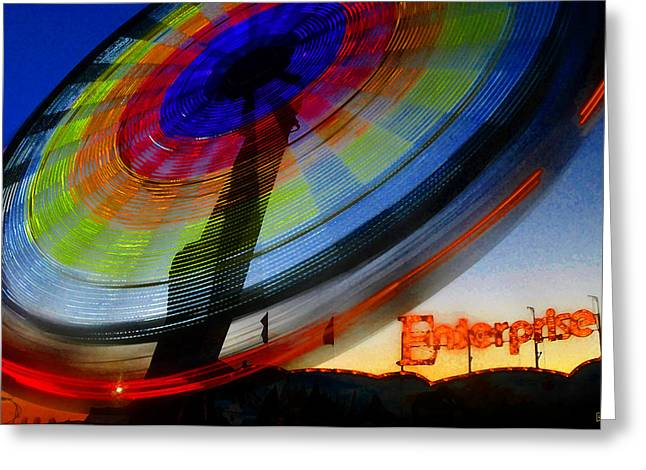 Enterprise Greeting Card by David Lee Thompson