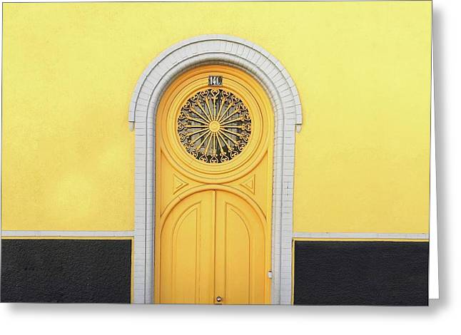 Greeting Card featuring the photograph Entrance by Karla Caloca