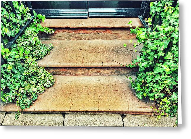 Entrance Steps Detail Greeting Card