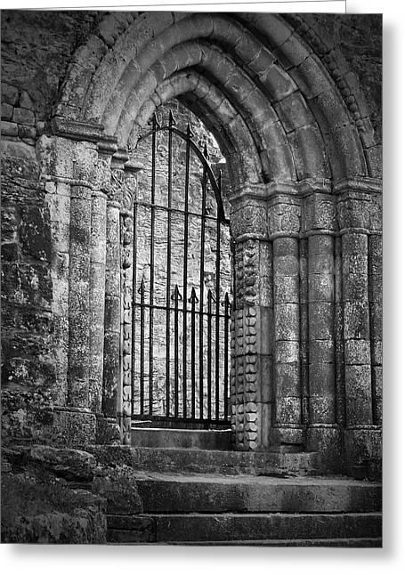 Entrance To Cong Abbey Cong Ireland Greeting Card by Teresa Mucha