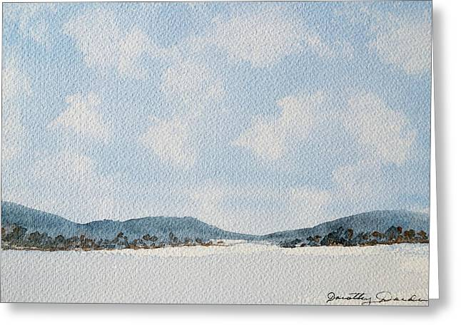 Entrance To Moulters Lagoon From Bathurst Harbour Greeting Card