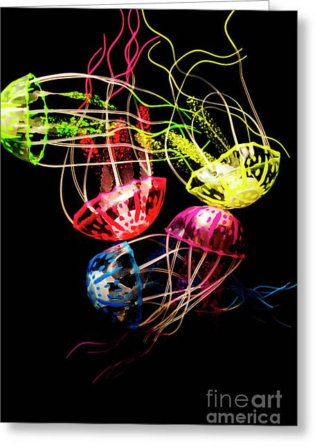 Entwined In Interconnectivity Greeting Card by Jorgo Photography - Wall Art Gallery