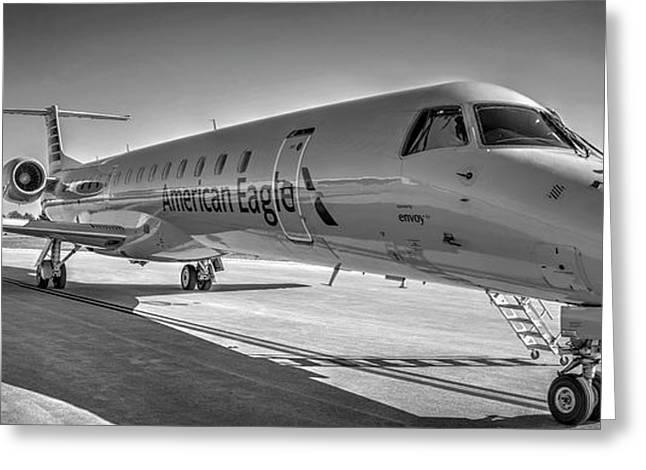 Envoy Embraer Regional Jet Greeting Card