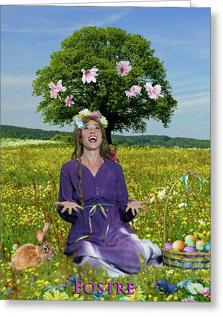 Eostre Greeting Card