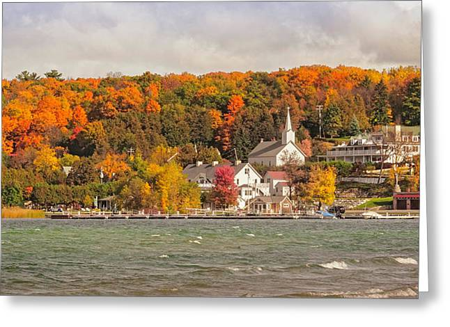 Greeting Card featuring the photograph Ephraim Wisconsin In Door County by Heidi Hermes