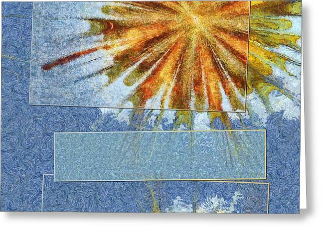 Epiblema Concrete Flower  Id 16163-233235-31521 Greeting Card by S Lurk