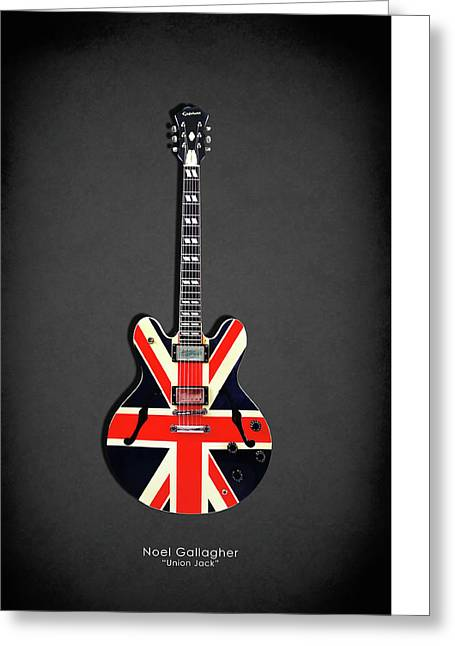 Epiphone Union Jack Greeting Card