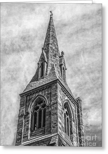 Episcopal Church Of The Incarnation - Nyc Greeting Card by Nick Zelinsky