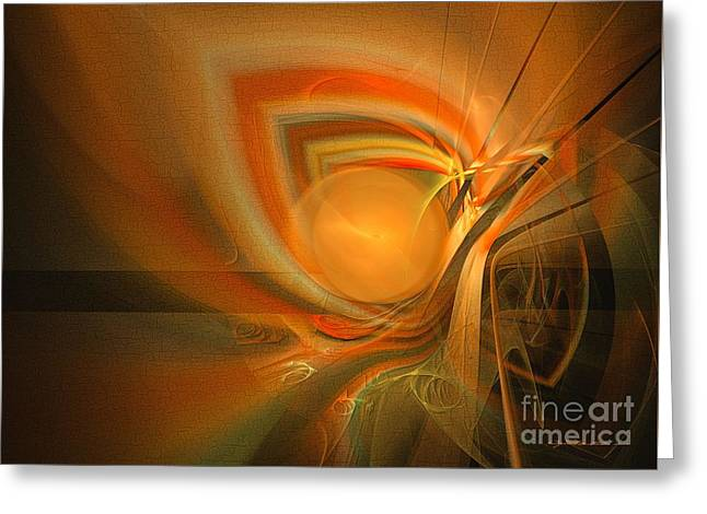 Equilibrium - Abstract Art Greeting Card