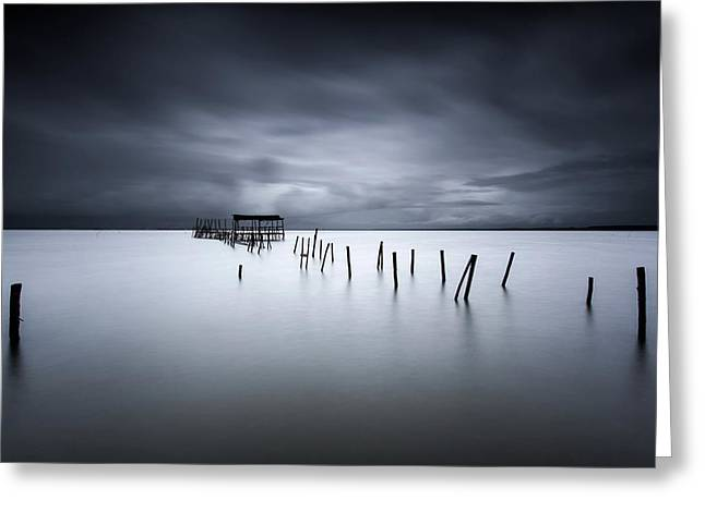 Equilibrium Greeting Card by Jorge Maia