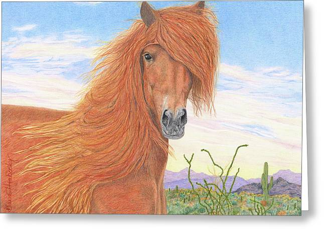 Equine Spa Day Greeting Card