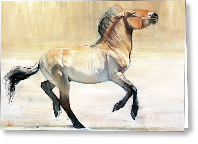 Equus  Greeting Card by Mark Adlington