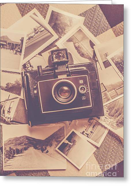 Era Of Film Photography Greeting Card