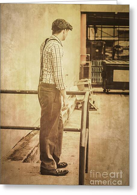 Era Of Industry Greeting Card by Jorgo Photography - Wall Art Gallery