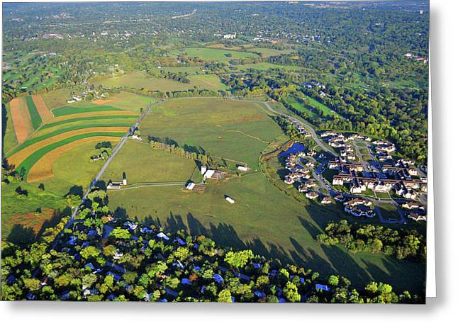 Erdenheim Farm 5051 Flourtown Rd Lafayette Hill Pa 19444 Greeting Card by Duncan Pearson