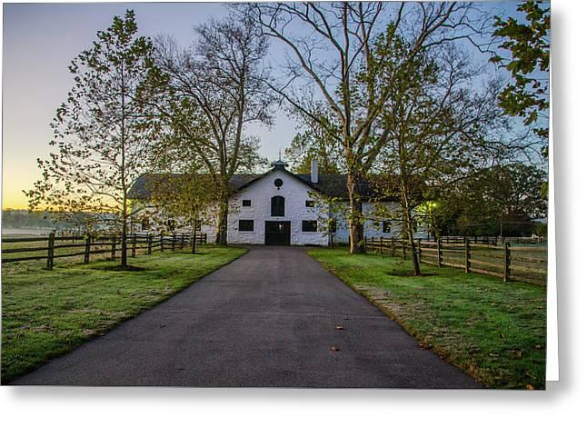 Erdenheim Farm Equestrian Center - Whitemarsh Pa Greeting Card by Bill Cannon