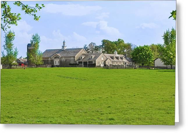 Erdenheim Farm - Whitemarsh Montgomery County Pa Greeting Card by Bill Cannon