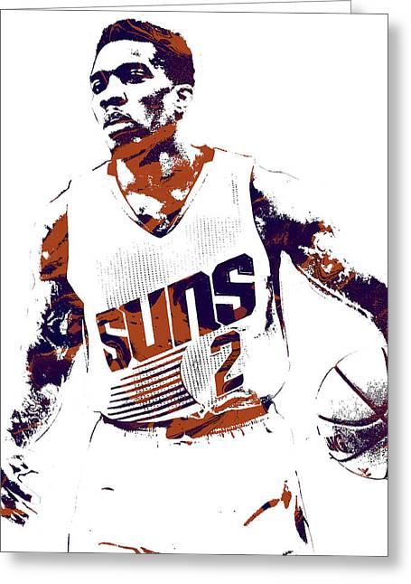Eric Bledsoe Phoenix Suns Pixel Art Greeting Card