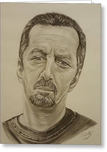 Eric Clapton Crossroads  Greeting Card by David Peninger