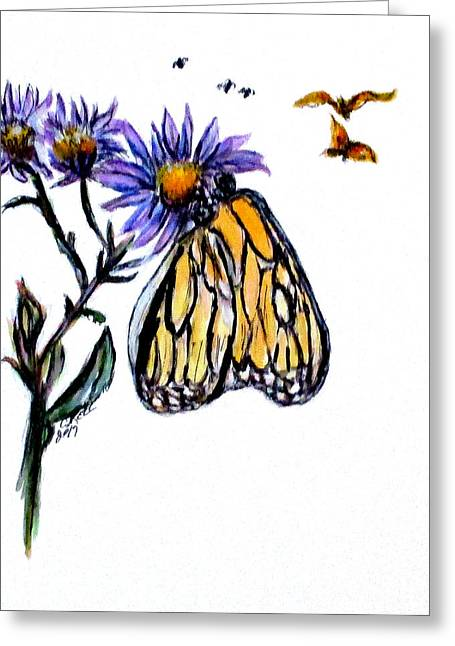 Erika's Butterfly One Greeting Card