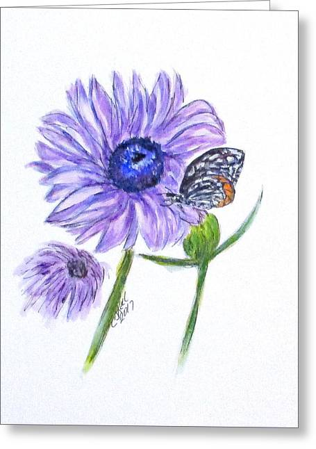 Erika's Butterfly Three Greeting Card