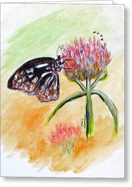 Erika's Butterfly Two Greeting Card