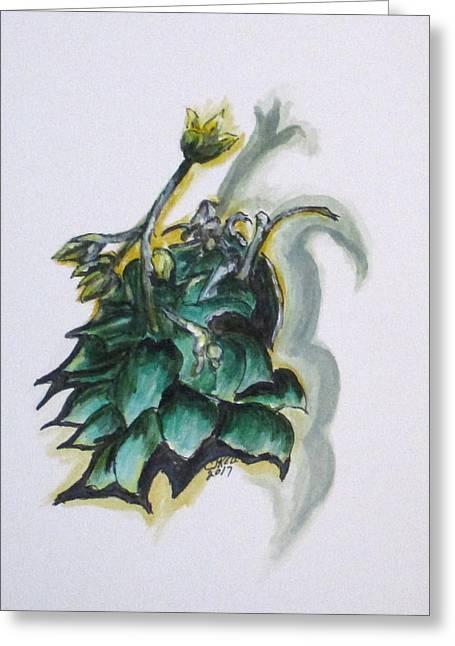 Erika's Spring Plant Greeting Card