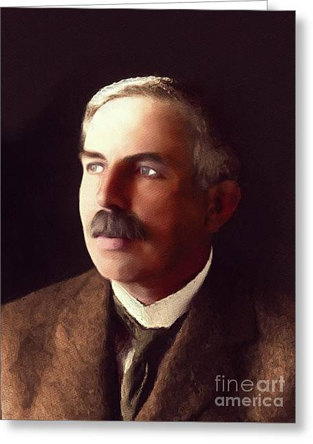 Ernest Rutherford, Famous Scientist Greeting Card