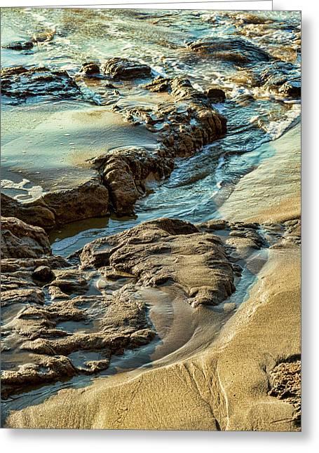 Erosion Greeting Card by Kelley King