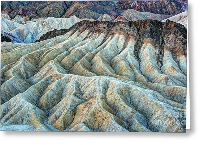 Erosional Landscape Greeting Card